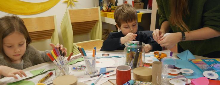 Atelier pour enfant sur les vignes et le liège